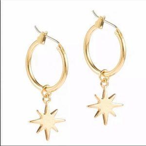 Star Ear Stud Hoop Dangle Earrings